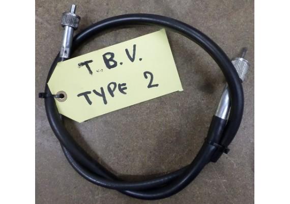 kilometertellerkabel tbv. type 2 ZX7R
