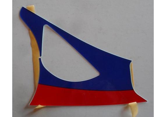 Suzuki (DIV 7) blauw/rood