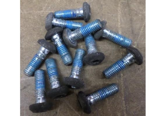 Boutjes remschijven voor (set van 12 stuks) XJ 700 X