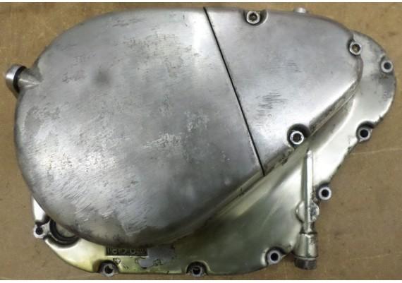 Koppelingsdeksel / blokdeksel rechts inclusief koppelingshevel en goed oliefilter LS 650