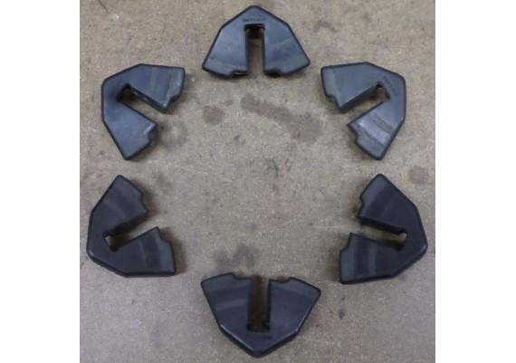 Aandrijfrubbers (set) GS 550 L