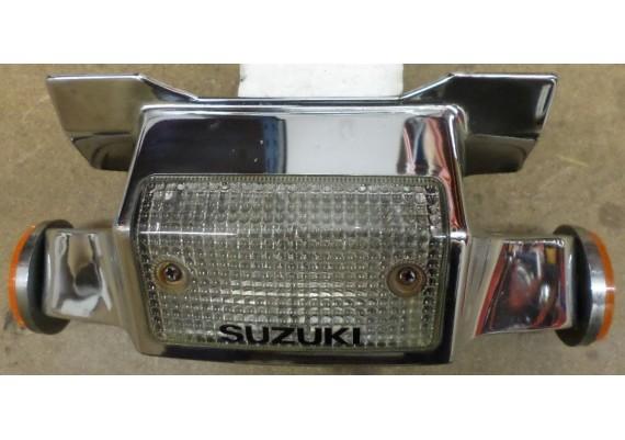 Sierkap T-stuk chroom inclusief verlichting en reflectoren GS 550 L