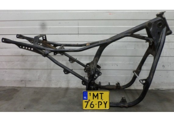Frame met Nederlands kenteken GS 550 L