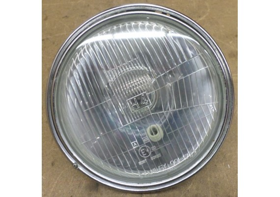 Koplampglas inclusief chromen ring LTD 550 C