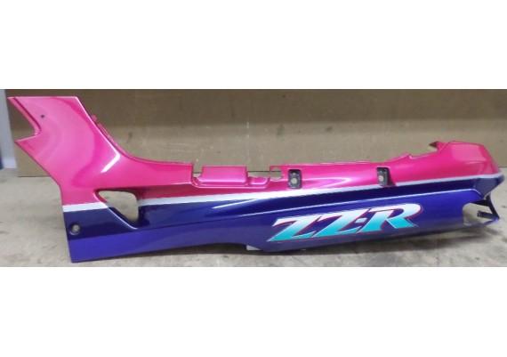 Achterkant/kont links paars/blauw/zilver/groen (1) ZZR 600