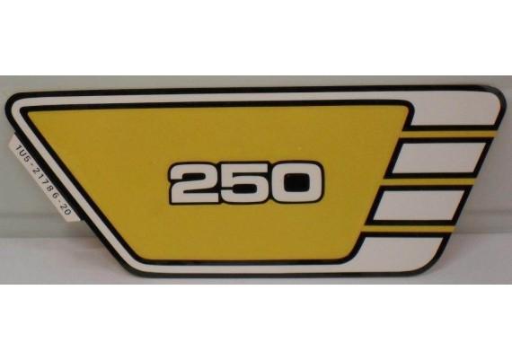 Sticker 1U5-21786-20-00 XS 250