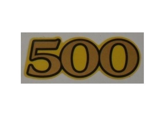 Sticker 4E6-21781-00 XT 500