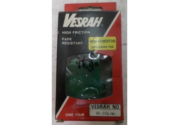 Remblokken VESRAH VD-205 NA XS 650 SE e.d.
