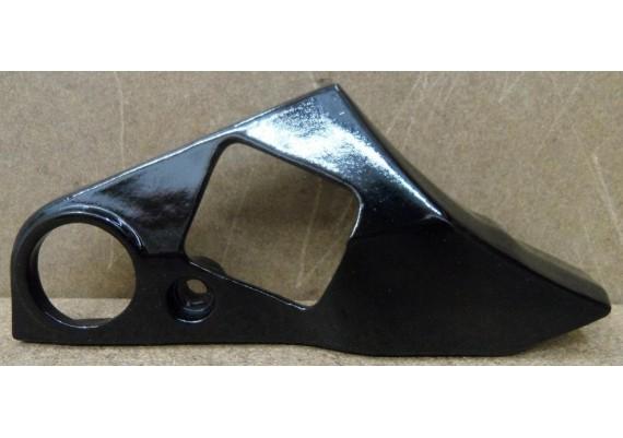 Kapje voetsteun rechts zwart gepoedercoat GSX 750 EF ES