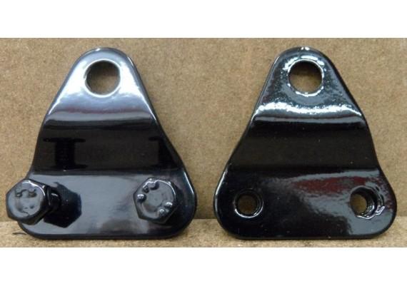 Bloksteunen (set) zwart gepoedercoat GSX 750 EF ES