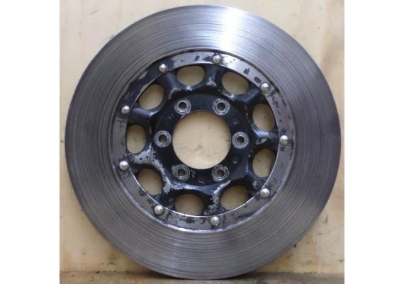 Remschijf voor (links) 6,8 mm. CB 550 K3