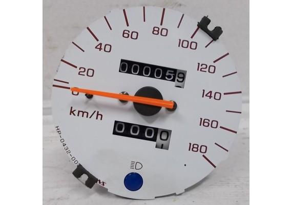Kilometerteller / snelheidsmeter (5,9 km.) 37200-MBZ-701 (t/m 180 km/h) CB 600 F Hornet