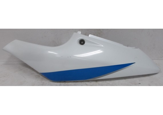 Achterkant/kont links wit/blauw/zilver (1) GSXR 600 SRAD