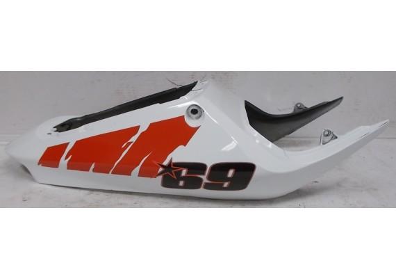 Achterkant/kont wit/rood (1) inclusief Nicky Hayden stickers 77211-MCJA-0000 CBR 1000 RR