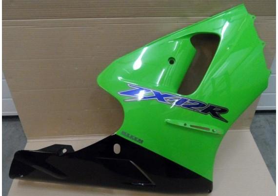 Kuipdeel links groen/zwart ZX12R