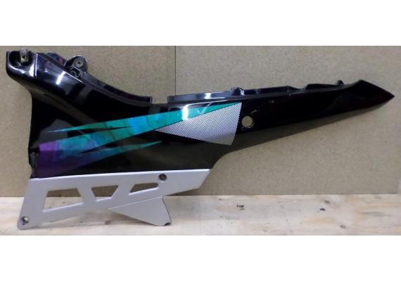 Achterkant / kont links (1) zwart/groen/zilver GSX 600 F