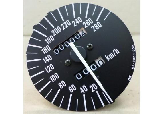 Kilometerteller / snelheidsmeter ( 0,4 km. ) ZX-7R