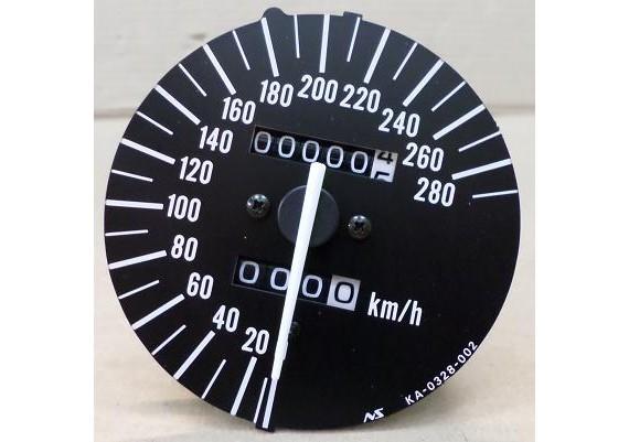 Kilometerteller / snelheidsmeter ( 0,5 km. ) ZX-7R