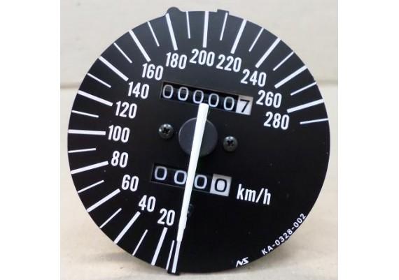 Kilometerteller / snelheidsmeter ( 0,7 km. ) ZX-7R