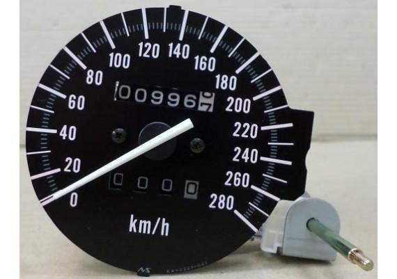 Kilometerteller / snelheidsmeter ( 996 km. ) ZX-6R
