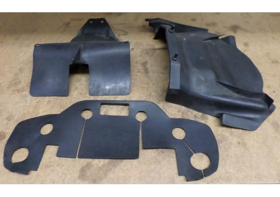 Beschermflappen rubber (set van 3 stuks) FZ 400 Fazer