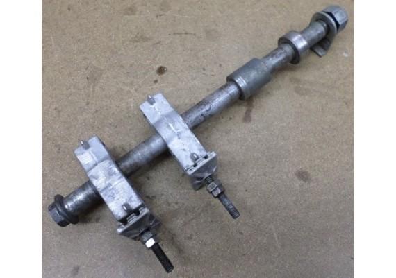 Achteras compleet (incl. kettingspanners) CBR 1000 F