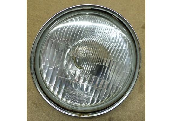 Koplampglas inclusief chromen ring LTD 454