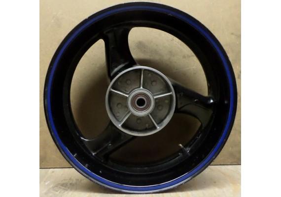 Achtervelg zwart (blauw velglint) J17xMT5.50 CBR 600 F PC35