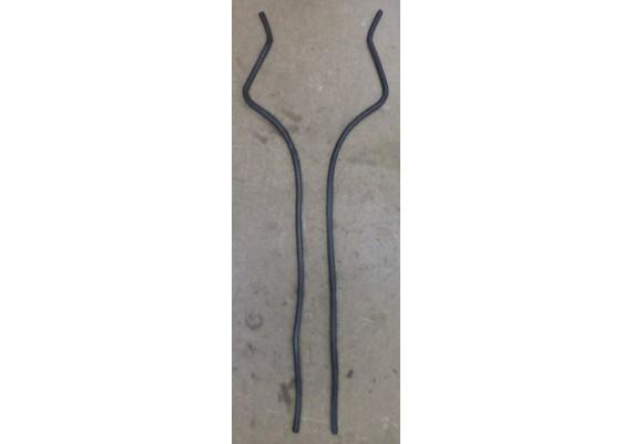 Beschermrubbers tellersetomlijsting/binnenkuip (set) ZX10