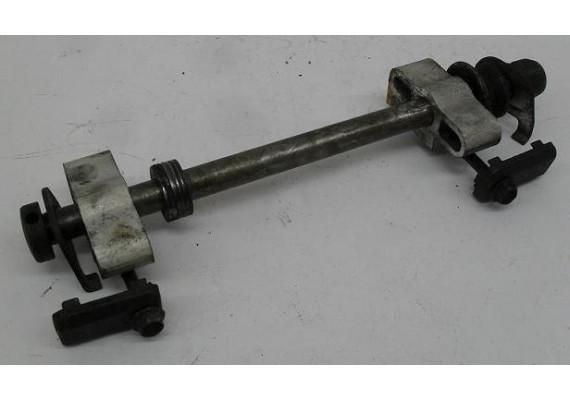 Achteras compleet incl. kettingspanners GSX 550