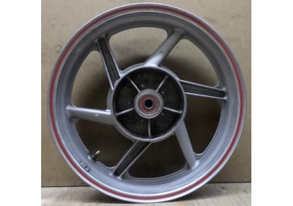 Achtervelg zilver (2) trommel J17 x MT3.50 CB 500 E