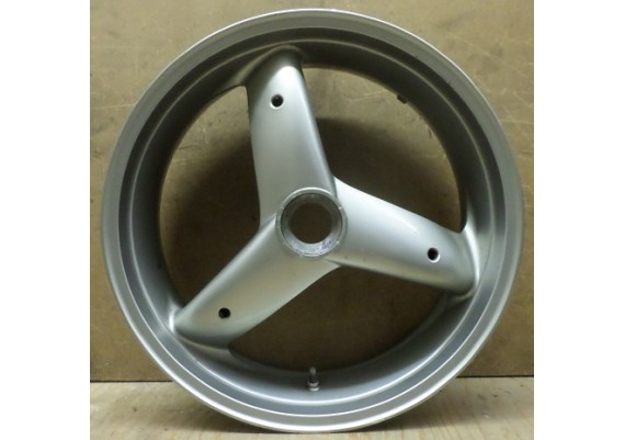 Achtervelg zilver (1) 3-spaaks J17 x MT6.00 Sprint RS/ST