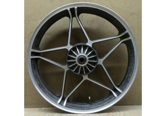Voorvelg (1) zwart/aluminium J19 x MT2.15 CB 450 SC