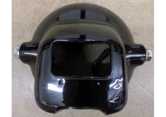 Koplamphuis zwart kunststof CB 250 TF