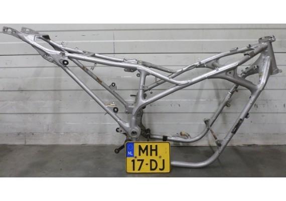 Frame met Nederlands kenteken zilver VF 400 F