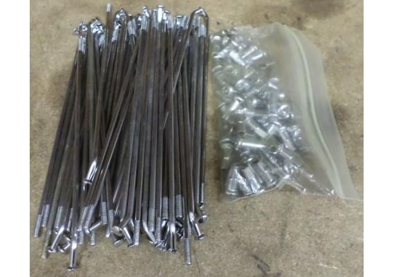 Spakenset voorwiel (zie omschrijving) 55320-38A01 VS 750