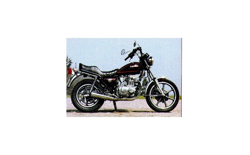 LTD 440 (KZ440) 1980-1984 (kettingaandrijving)