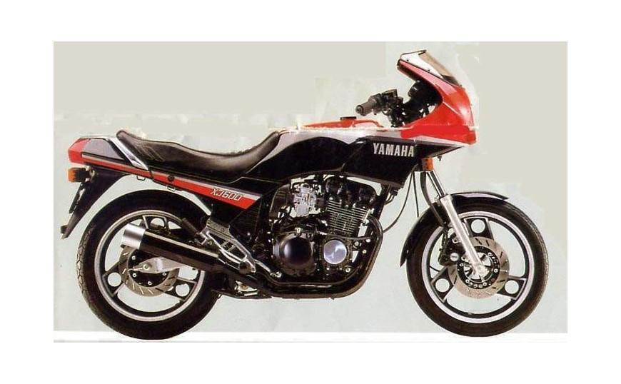 FJ 600 / XJ 600 1984-1991
