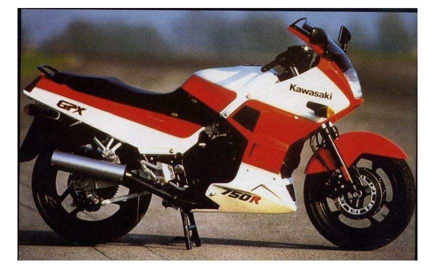 GPX 750 R (ZX750F) 1987-1989