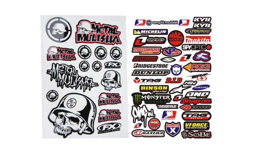 Stickers CBR 600 F2 (PC25) 1991-1994