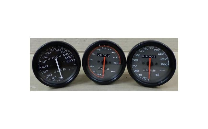 Tellers (km. / snelheid)