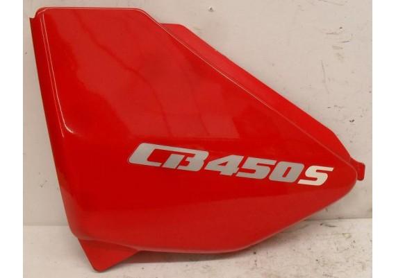 Zijkap links rood CB 450 S