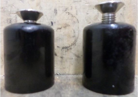 Stuurgewichten (set) inclusief boutjes RGV 250