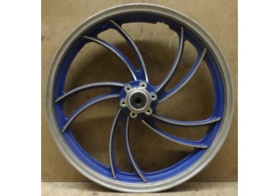Voorvelg blauw/aluminium J19 x MT1.85 XJ 650 4KO