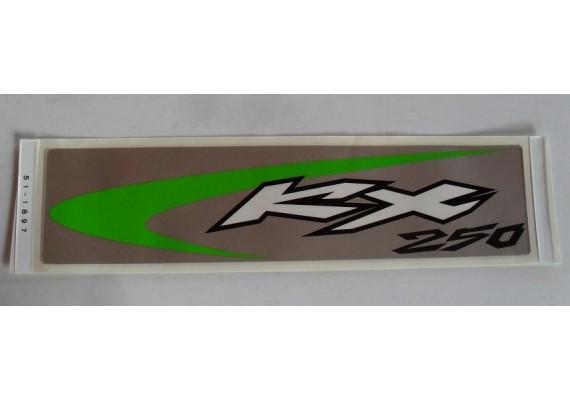 Sticker 56051-1897 KX 250