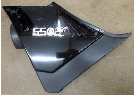 Zijkap links zwart (1) GS 550 L