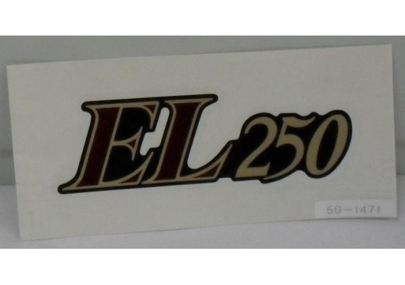 Sticker 56050-1471 EL 250