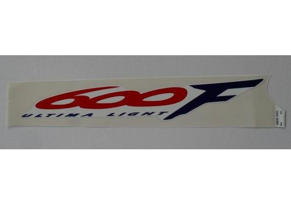 Sticker 83616-MBW-D00ZA CBR 600 F4