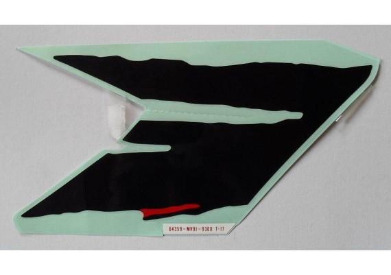 Sticker 64359-MV9-930ZC CBR 600 F2