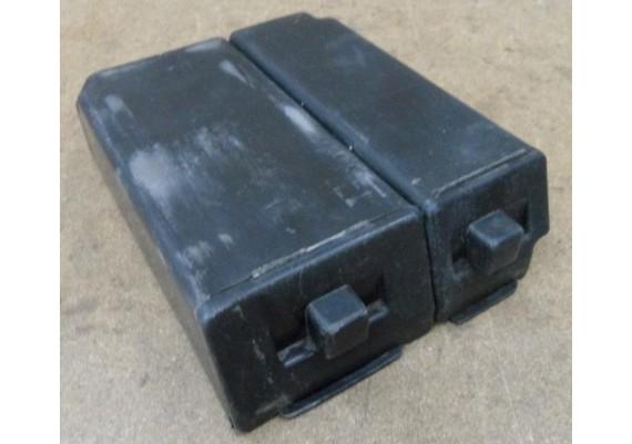 Gereedschaps- en bagagebakje (set) GPZ 600 R